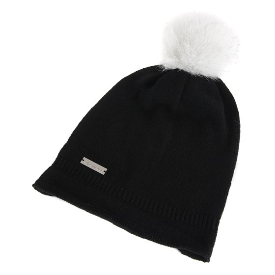 0a141441fcc Featuring a fox fur pom pom this hat will keep you warm while maintaining  the style Moose Knuckles has become known for. Be hot headed