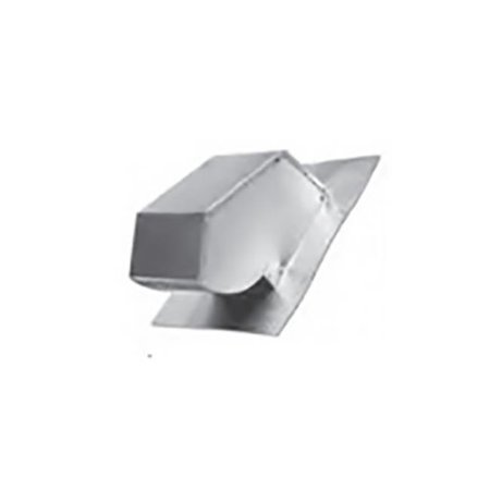 Lambro 132 4 in. Galvanized Roof Cap with Screen & Flange, No Damper - Pack of 12