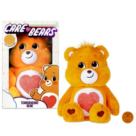 "NEW 2020 Care Bears - 14"" Plush - Tenderheart Bear - Soft Huggable Material!"