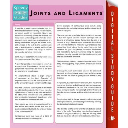 Joints and Ligaments (Speedy Study Guides) -