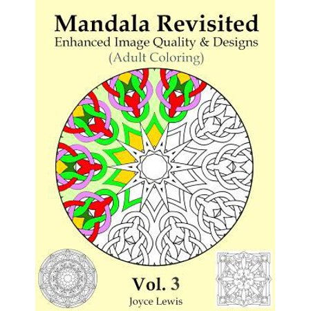 Mandala Revisited Left Hand Edition Vol  3  Adult Coloring