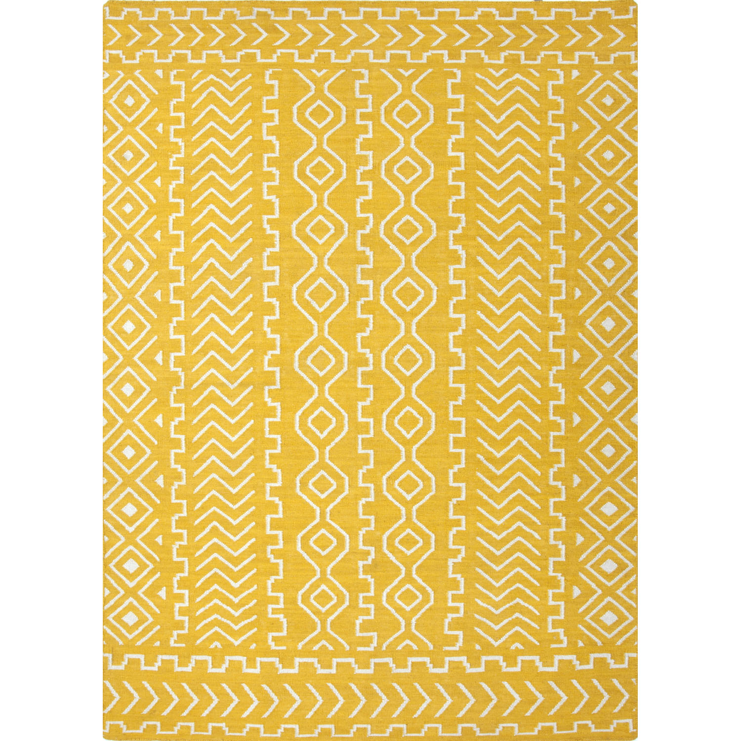 Wildon Home  Astri  Yellow Area Rug