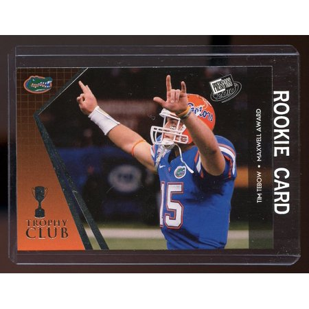 2010 Press Pass Trophy Club #51 Tim Tebow Denver Broncos Rookie Card
