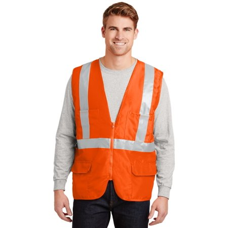 - CornerStone ANSI Class 2 Mesh Back Safety Vest
