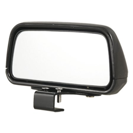 Rectangle Rear View Mirror (Unique Bargains Auto Car  Exterior Black Rectangle Rear View Blind Spot Mirror )