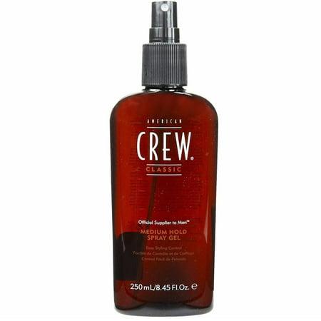 AMERICAN CREW by American Crew SPRAY GEL MEDIUM (American Crew Medium Hold Spray Gel 250ml)