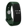 Tirux Bluetooth Smart Watch Bracelet Wristband Heart Rate Monitor Sport Fitness Activity Tracker - Dark Green Highlights: Phone call / message reminder: If there is a call or message, it will remind you. And Android phones will display the caller ID.Heart rate monitor: Measure the value of your heart rate, helps you know your heart rate state.Sport tracking: Record the steps taken, calories burned and distance traveled. Help you achieve your sports goal.Sleep monitoring: Monitor the quality of sleep; You can check the wake up time, light sleep time and deep sleep time.Find phone / Anti-lost: Take care of your smart phone and watch, two-way anti lost.Function: Time Display Date Display Tracking Steps Distance Calories Burned Incoming Call Remind Message Notification Monitor Sleep Quality Bluetooth Connect Heart Rate Monitor Touch Button Anti-Lost