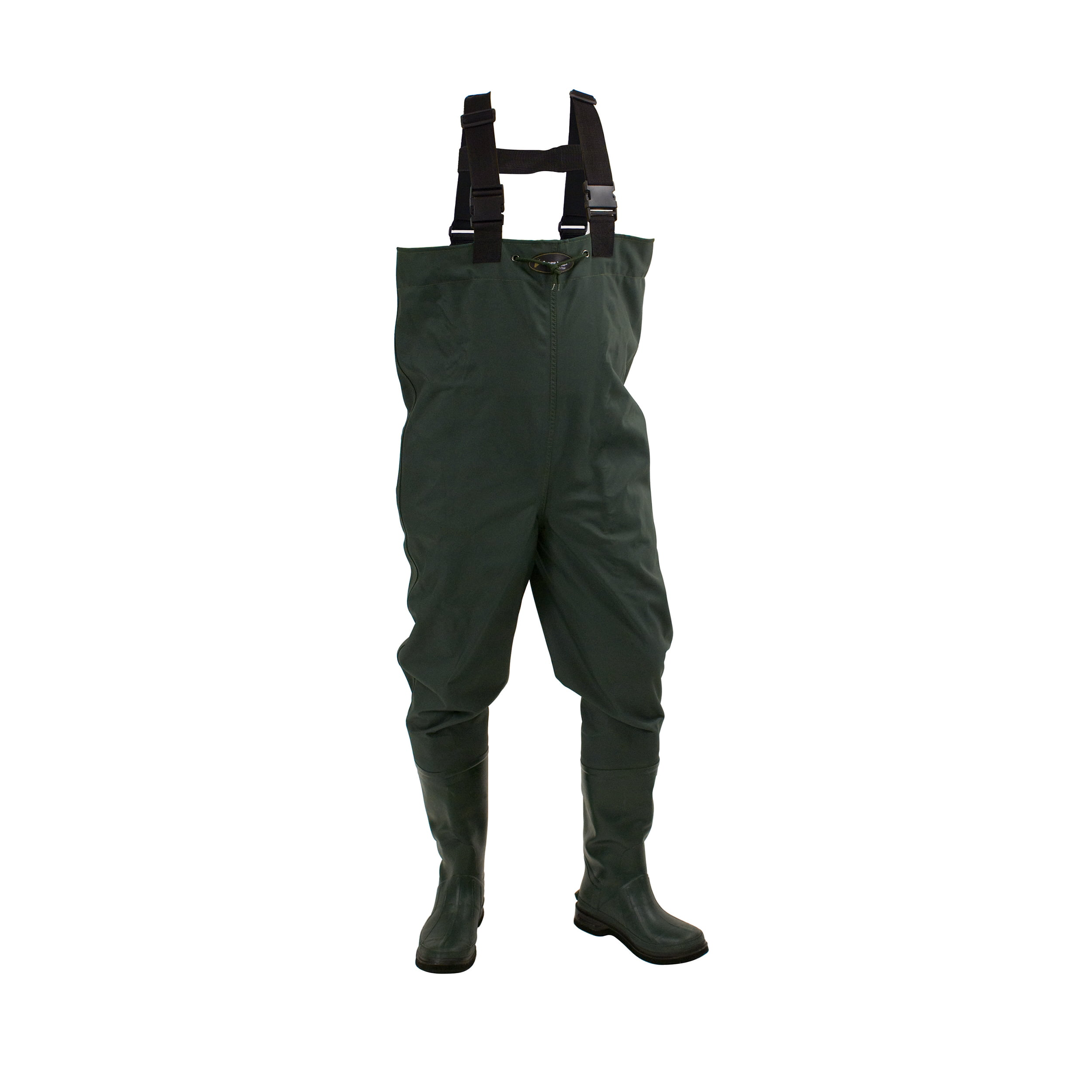 Frogg Toggs Cascades 2-ply Bootfoot Poly Rubber Chest Wader Cleated by Frogg Toggs