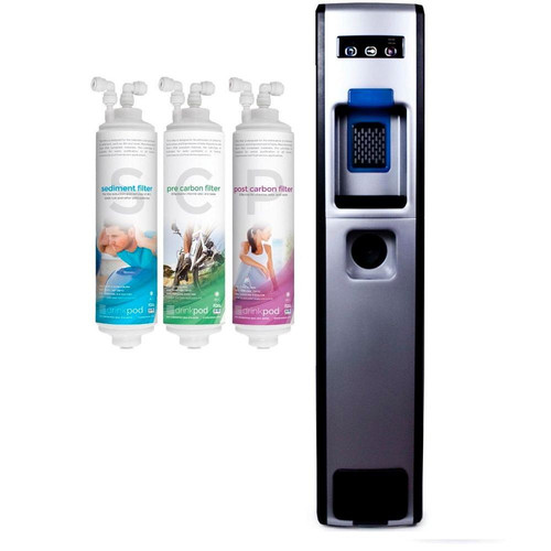 Decor Coolers 503 Series Bottleless Free-Standing Hot and Cold Water Cooler