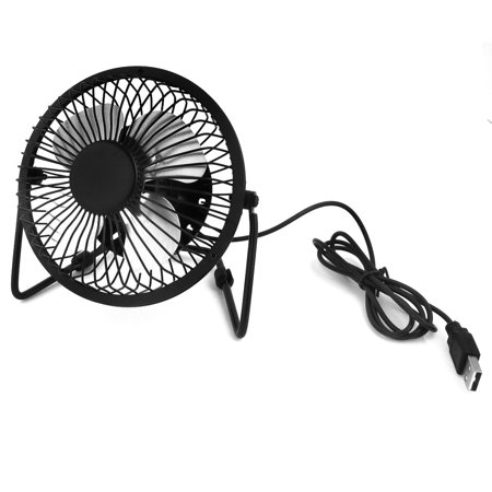 - Unique Bargains Portable 360 Degree Rotation PC Desktop USB Cooler Cooling  Fan for Home Essential
