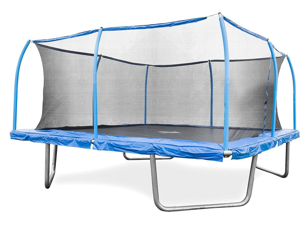 Bouncepro 15 Square Trampoline And Steelflex Safety Enclosure