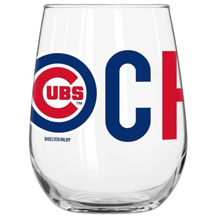 Chicago Cubs 16oz. Overtime Curved Glass - No Size