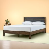 "Zinus Stefan 38"" Wood Platform Bed with Headboard, Twin"