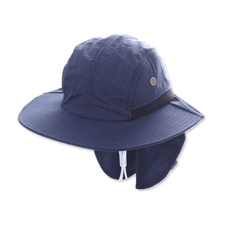c8eb94540c6 Outdoor Bucket Hats with Brim Ear Sun Cap Neck Cover for Fishing Boating  Hiking - Walmart.com