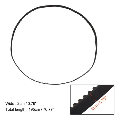 239YU20 Boat Engine Timing Belt for Yamaha Outboard F225