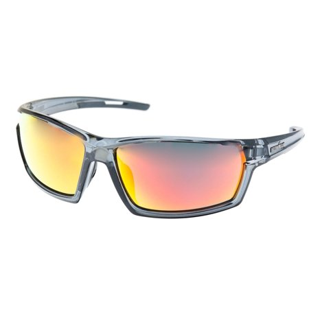 Iron Man Mens Sunset Ironflex Wrap Sunglasses One Size