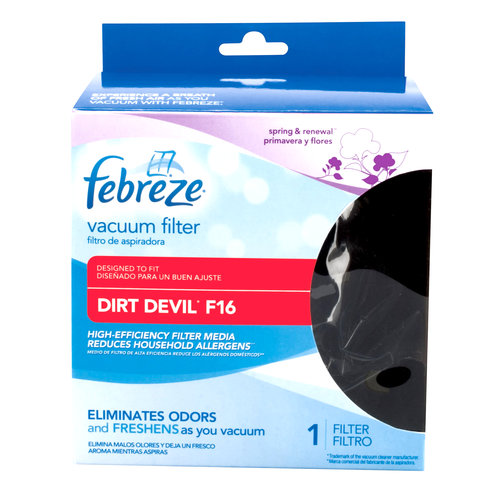 Febreze Vacuum Filter, Dirt Devil Style F16