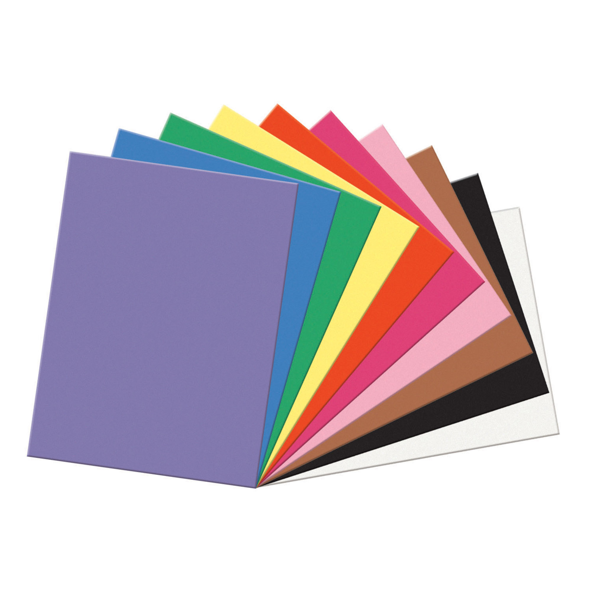 "Pacon® SunWorks® Construction Paper, 18"" x 24"", Assorted Colors - 100 sheets per pack"