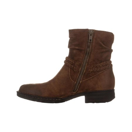 Born Ouvea Braid Ankle Boots, Rust - image 3 of 6