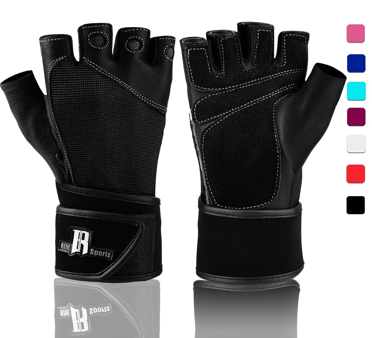 Weight Lifting Gloves With Wrist Wrap Best Lifting Gloves