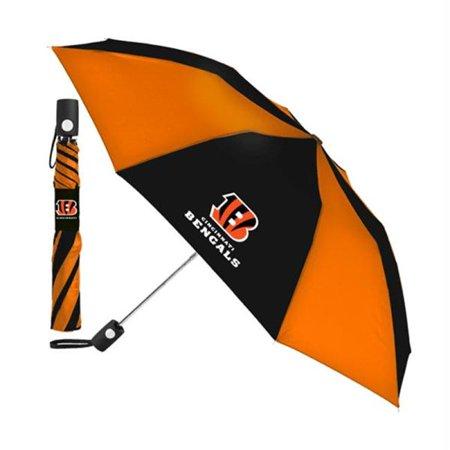 Totes MCA-R1306-RCMB Cincinnati Bengals NFL Automatic Folding Umbrella
