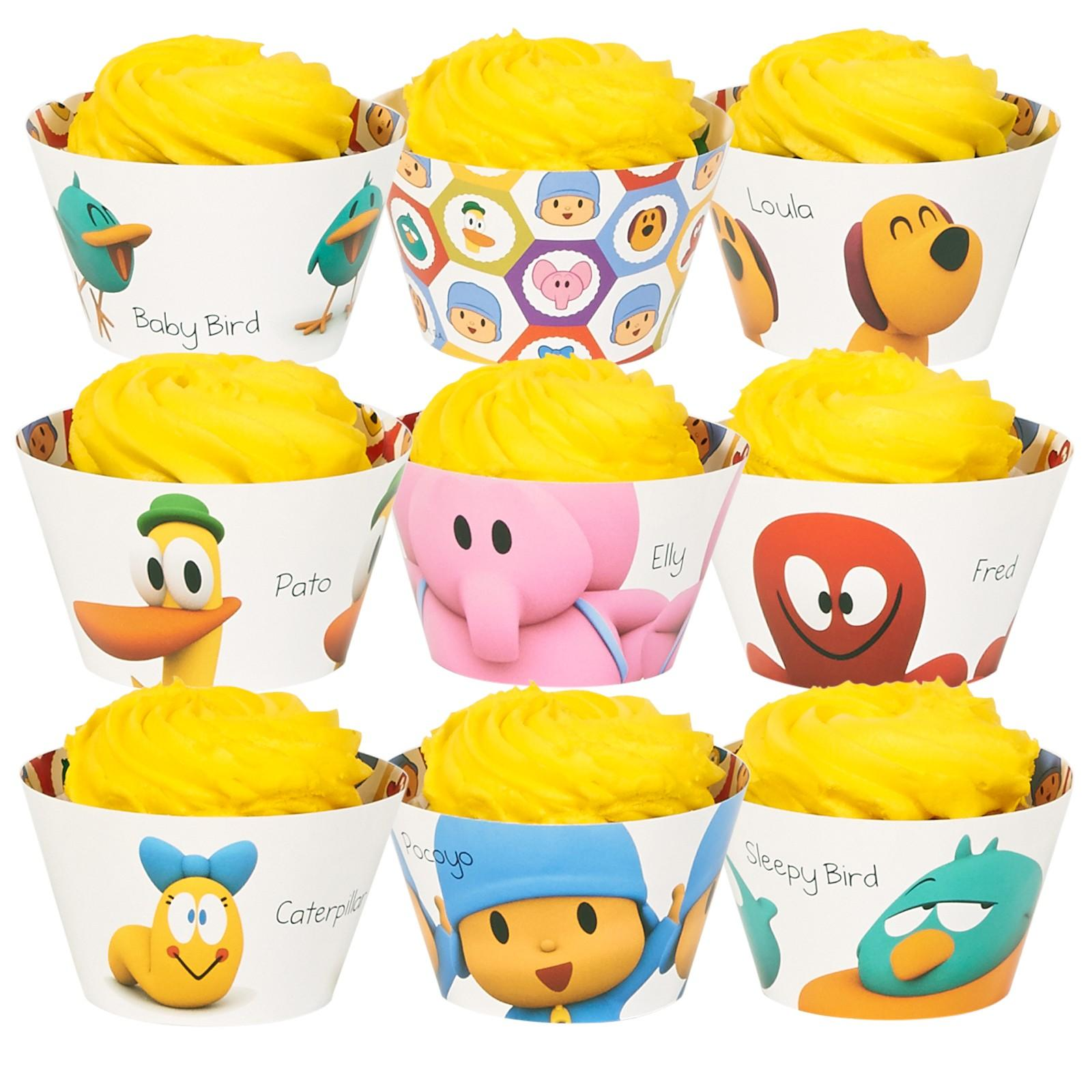 Pocoyo Reversable Cupcake Wrappers Assorted 24pk  sc 1 st  Walmart & Pocoyo Reversable Cupcake Wrappers Assorted 24pk - Walmart.com