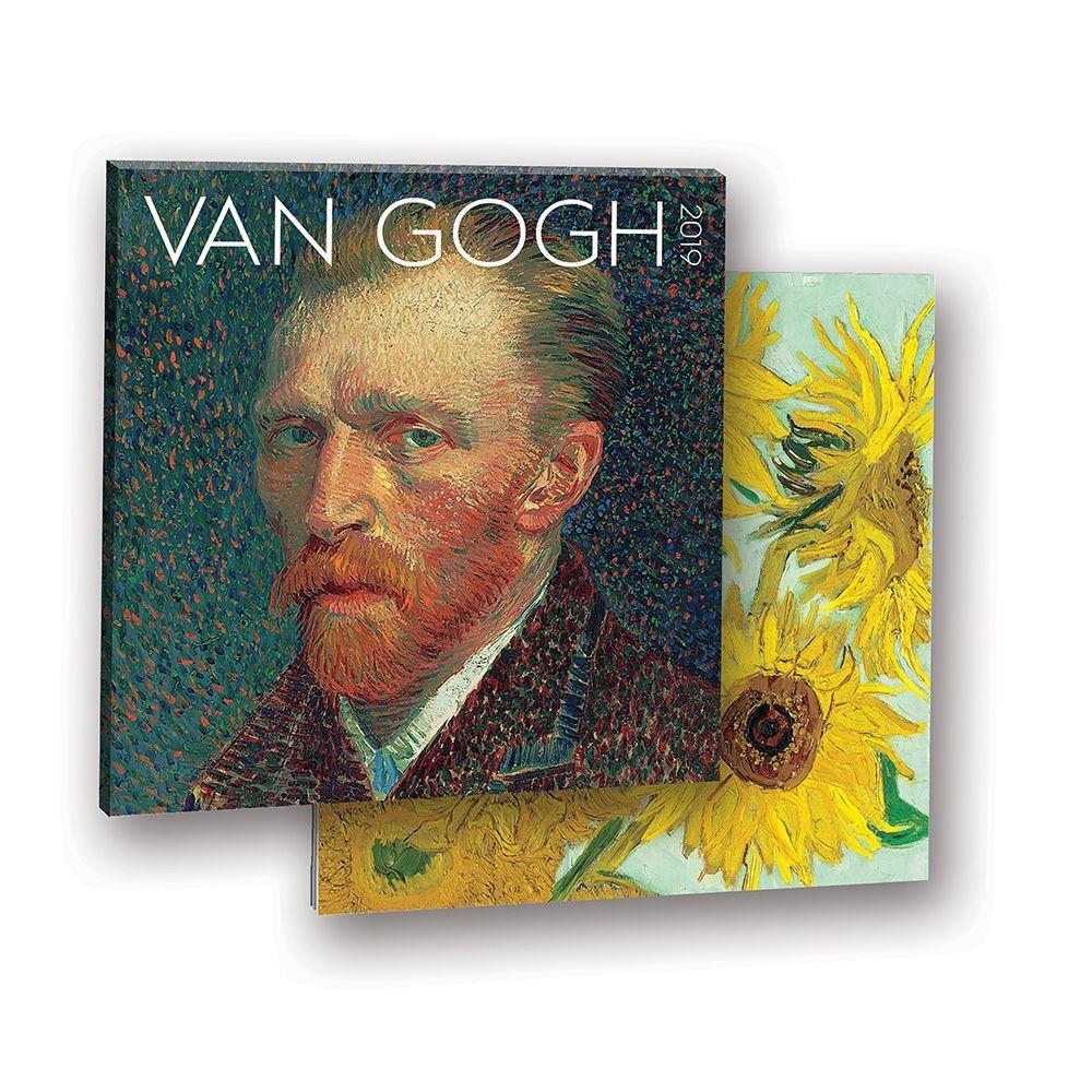 2019 Van Gogh Album Wall Calendar, Fine Art by Orange Circle Studios Corporation