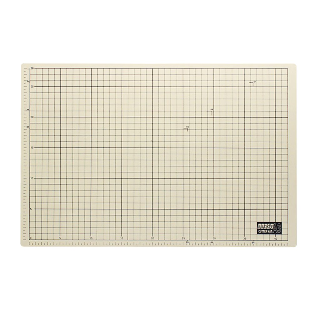 A3 Professional Pvc Sewing Cutting Mats Office Students School Reversible Handmade Engraving Board Mat Tools