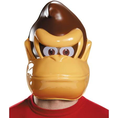 Adult's Nintendo Donkey Kong Gorilla Monkey Mask Costume - Gorilla Mask For Sale