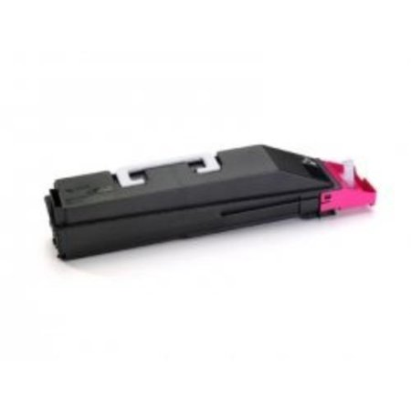 Kyocera TK857M Tk-857m Magenta Toner Cartridge And 1 Waste Container For Use In Taskalf
