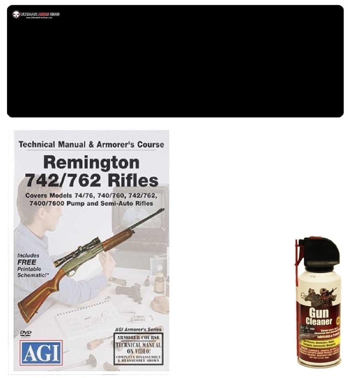 American Gunsmithing Institute DVD Manual & Armorer's Course Remington 740   760 Series Rifles + Ultimate Arms Gear... by