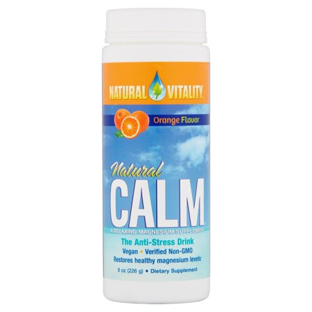 Natural Vitality Natural Calm Orange Flavor The Anti Stress Drink  8 Oz
