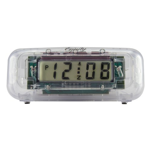 La Crosse Equity 31008 Small Clear Alarm Clock