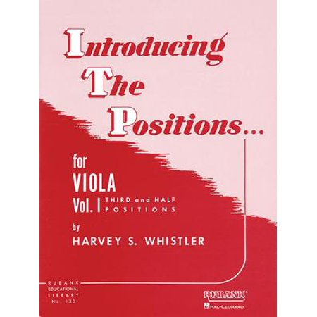 Folk Viola - Introducing the Positions for Viola : Volume 1 - Third and Half Positions