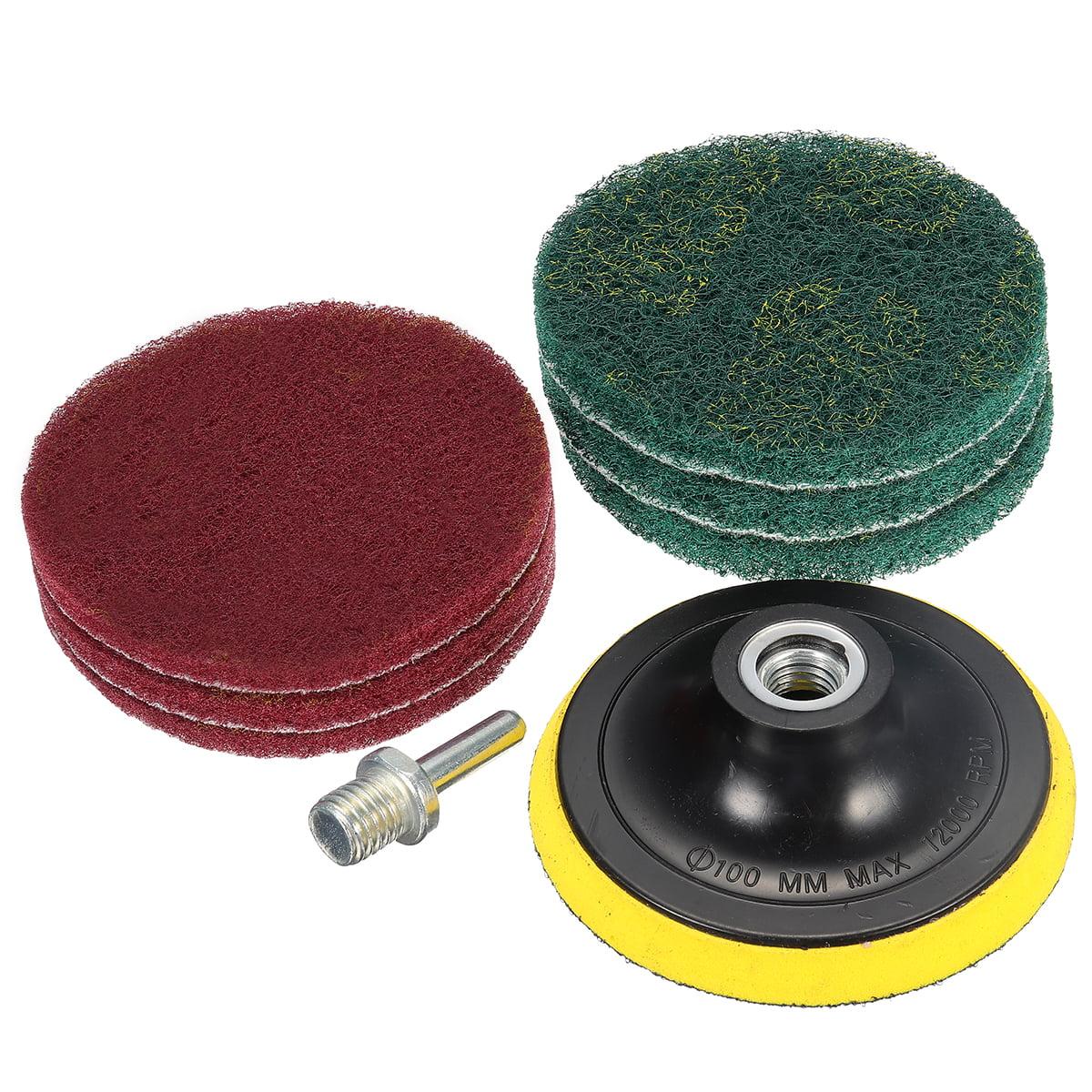 7//5 Inch Brush Power Scrubber Scrub Pad Tile Cleaning Polisher Drill Bathroom