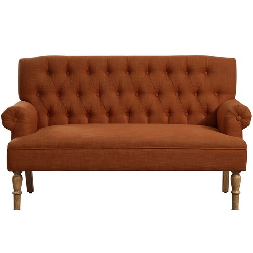 Charlton Home Barryknoll Chesterfield Settee