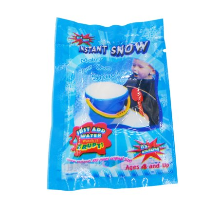 Artificial Instant Snow Fluffy Snowflake Super Absorbant Man-Made DIY Snow Powder Magic Prop Christmas Party Decorations DIY Gift