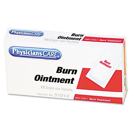 Physicianscare Burn Ointment 10 Count Walmartcom