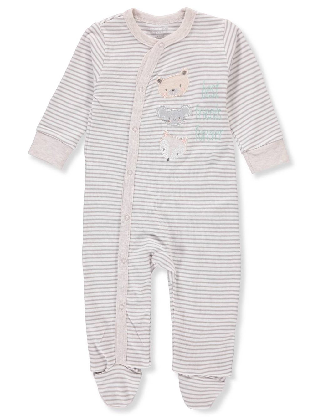 Rene Rofe Baby Boys' Footed Coverall
