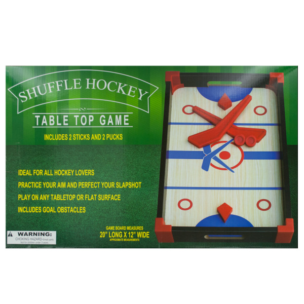 Slap Shot Hockey Tabletop Game (Pack Of 2) by Bulk Buys