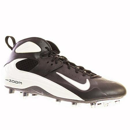 Nike AIR ZOOM BLADE PRO TD Mens Football Shoes Black White Silver 15 M