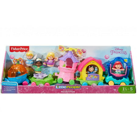 Little People Disney Princess Parade 5 Pack
