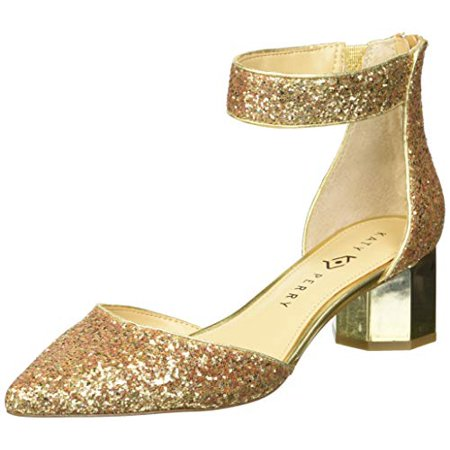 Katy Perry Women's The Jo Pump, gold, 7 M Medium US