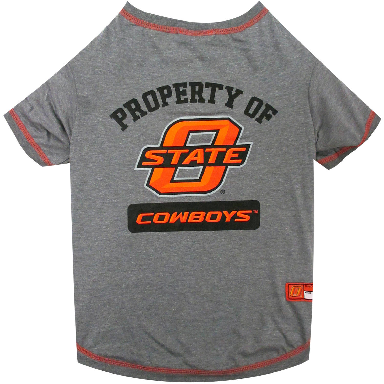Pets First Collegiate Oklahoma State Cowboys Pet T-shirt, Assorted Sizes