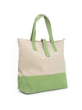 209fe3dae2 Product Image Two Tone Canvas Tote Handbag. Magid