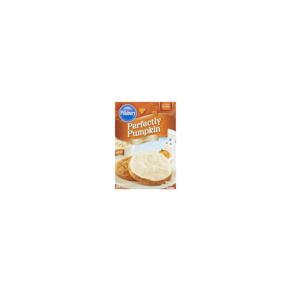 Pillsbury Perfectly Pumpkin Flavored Cookie Mix 17 5 Oz Walmart Com Walmart Com