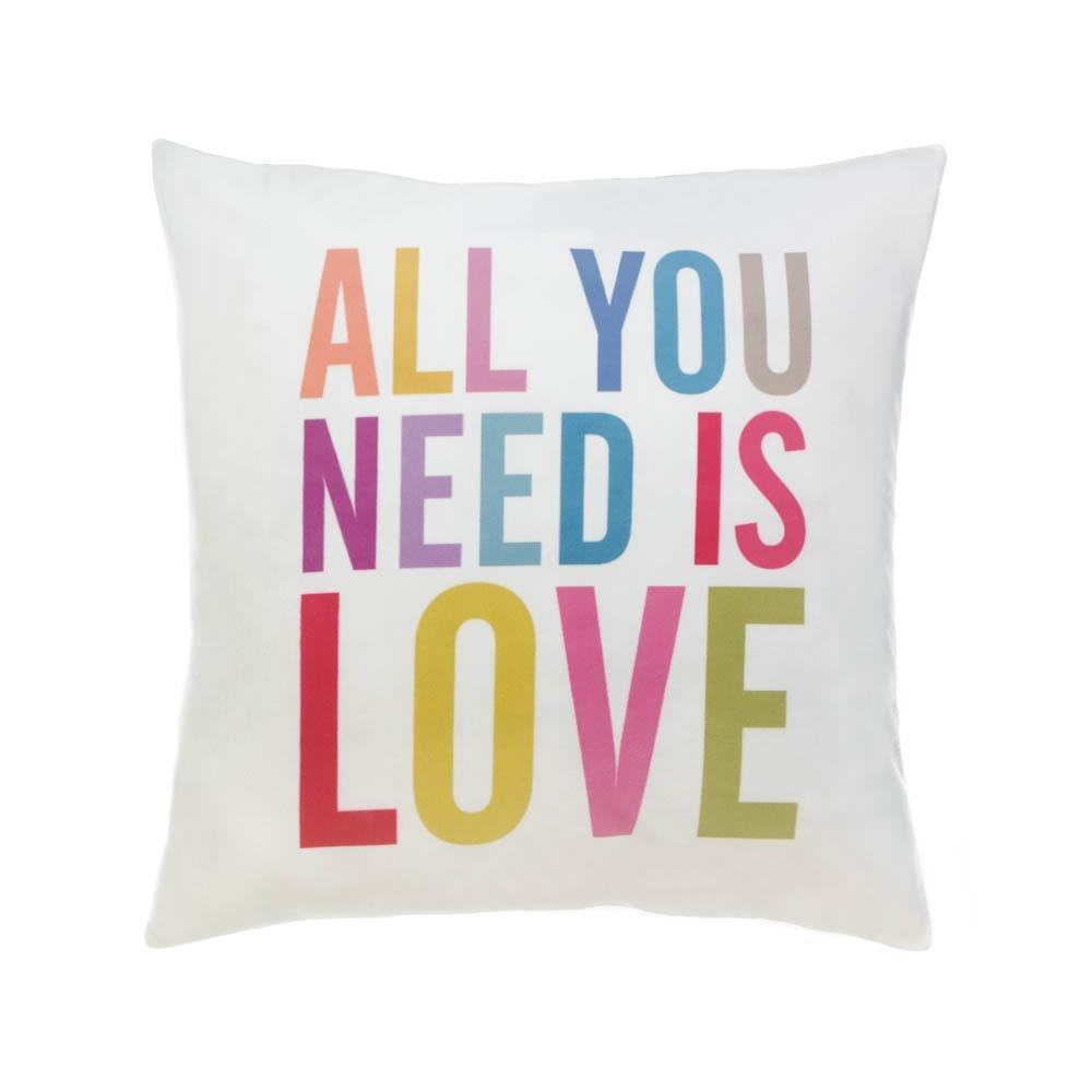 Throw Pillows Decorative, Fun Square Pillow Case Polyester Throw Pillows by Accent Plus