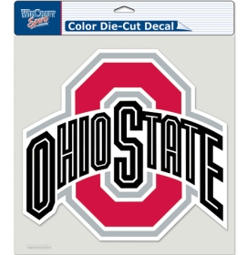 "Ohio State Buckeyes Die-Cut Decal - 8""x8"" Color by Wincraft, Inc."
