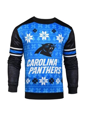 Product Image Forever Collectibles NFL Men s Carolina Panthers Printed Ugly  Sweater b62c983e8