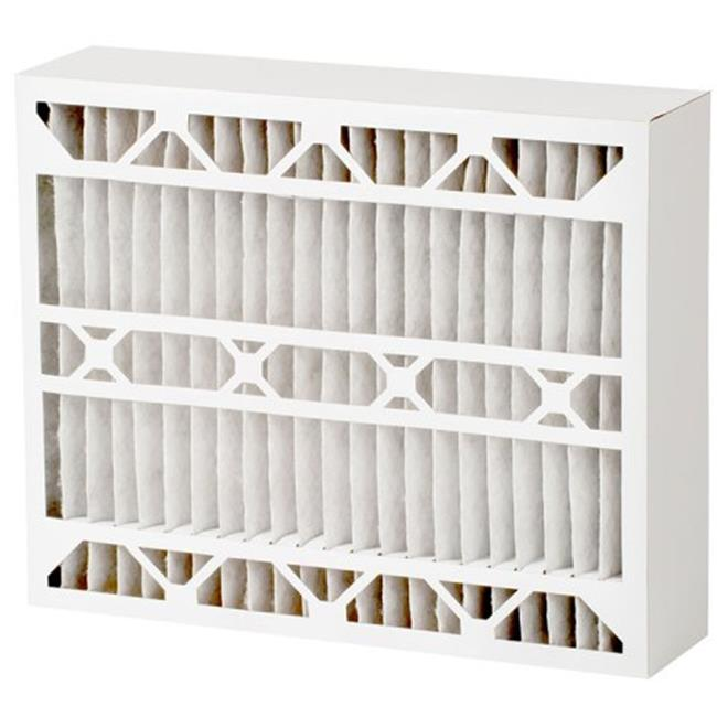 Quality Filters 20 x 26 x 5 inch Merv 8 Odors & Allergens Whole House Cartridge Air Filter, Pack of 2